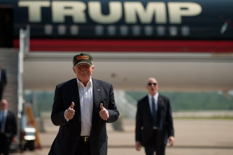 Half of Trump's $10 Million Ad Buy Hasn't Been Placed Yet
