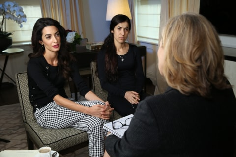 Amal Clooney Takes on ISIS for 'Clear Case of Genocide' of Yazidis