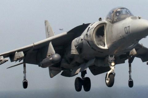 U.S. Marine Corps AV-8 Harrier Fighter Jet Crashes Off Coast of Okinawa, Japan