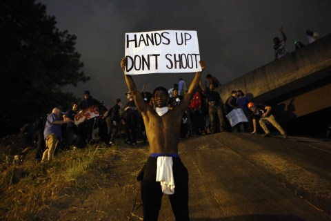 Defiant but Peaceful Protesters March Again in Charlotte