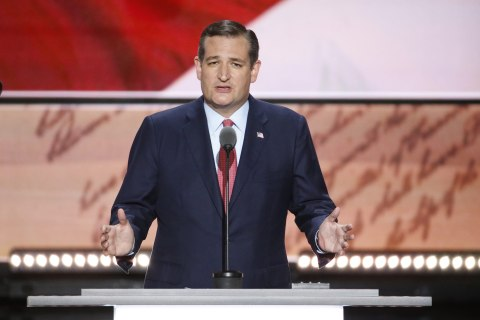 Ted Cruz Announces He'll Vote for Trump