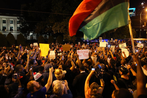 Calm Holds in Charlotte Amid Protests After Keith Scott Shooting Video Emerges
