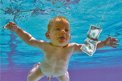 Baby From Nirvana's 'Nevermind' Cover Re-Creates Photo 25 Years Later