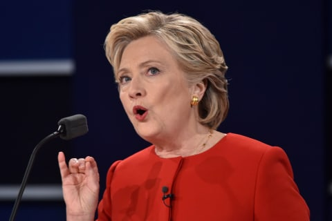 Clinton: 'Donald, I Know You Live in Your Own Reality'