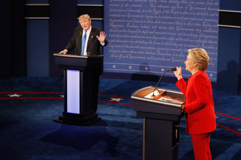 Trump, Clinton Present Vastly Different Visions on Race