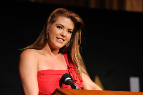Former Miss Universe Alicia Machado Hopes 'Miss Piggy' Story Will Boost Clinton Support