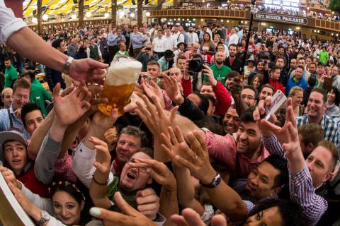 Prost! Beer Flows at Germany's Oktoberfest