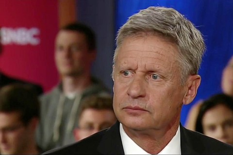 Gary Johnson Has 'Aleppo Moment' at MSNBC Town Hall, Struggles to Name a Foreign Leader