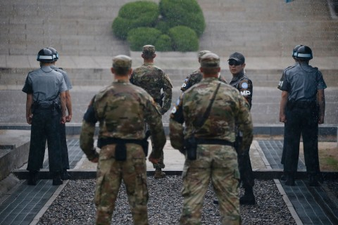 North Korean Soldier Makes Rare Defection Across DMZ to South