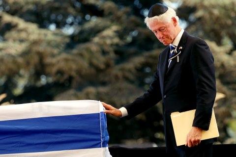 World Dignitaries Honor Shimon Peres at Funeral