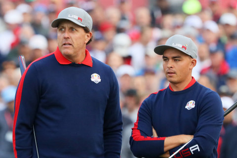 Phil Mickelson Takes Step Toward Ryder Cup Redemption on Day 1