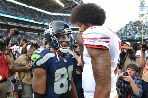 Seahawks WR Says He's Received Death Threats Over Anthem Protest