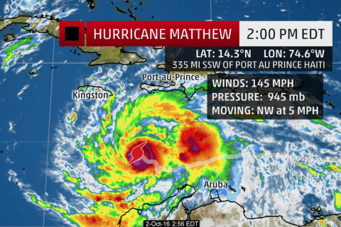 Hurricane Matthew: Evacuations in Guantanamo, Haiti Braced for 40-inch Rains