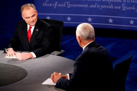 VP Debate: Tim Kaine and Mike Pence's 15 Biggest Zingers