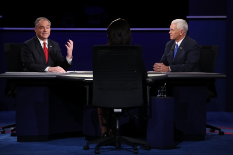 Iraq War Looms Large Over 2016 Vice Presidential Debate