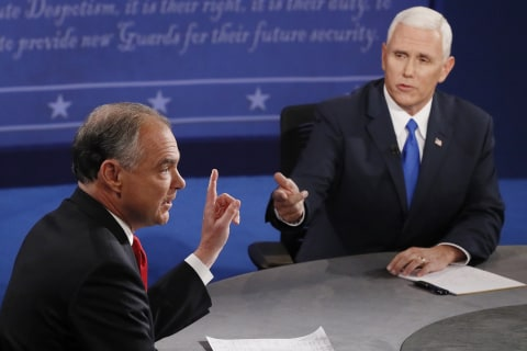 2016 VP Debate Recap: Pence and Kaine Attack Top of the Ticket