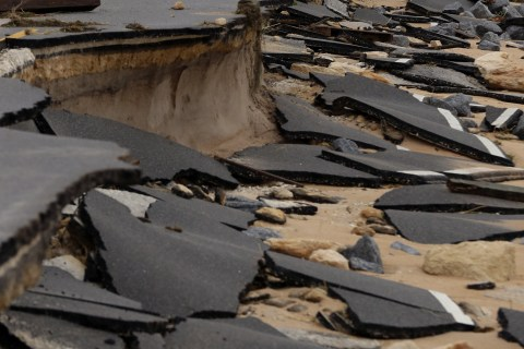 Southeast Grapples With Hurricane Damage