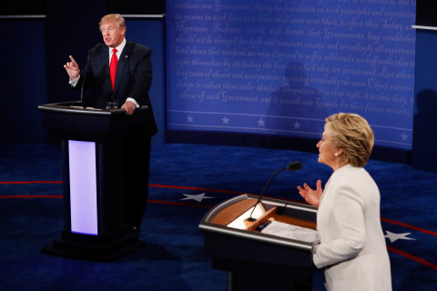 On Abortion, Trump and Clinton Give Passionate Answers