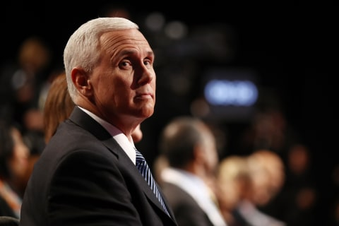 Pence: We'll Accept Election Result ... if 'Vote is Fair'