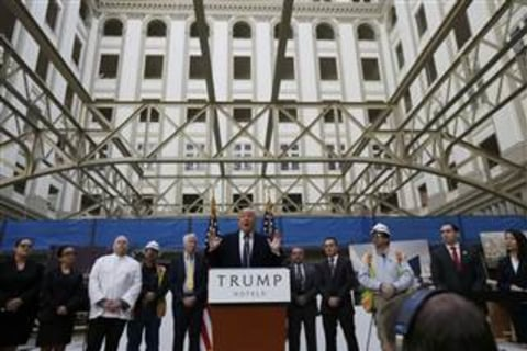 With Empty Rooms and Bookings Plummeting, Trump Hotels Are Taking a Beating