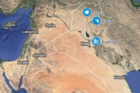 ISIS Fighters Claim Attack on Kirkuk, Iraq