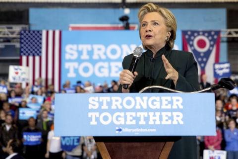 Clinton Turns Down Ballot, Talks Racial Divides in North Carolina