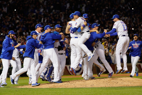 Celebration as Chicago Cubs Clinch First World Series Slot Since 1945