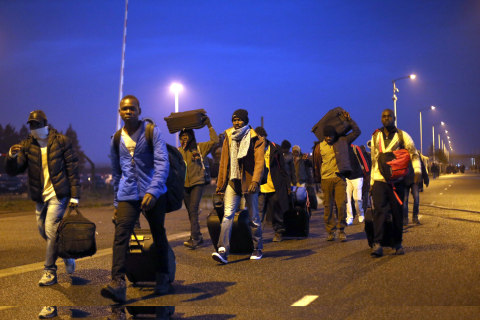 Migrants on the Move as France Clears 'The Jungle'