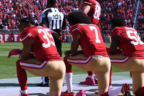 Are National Anthem Protests Affecting NFL TV Ratings?