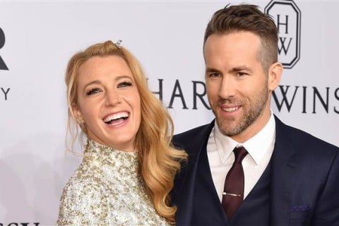 Ryan Reynolds, Blake Lively Celebrate His 40th Birthday