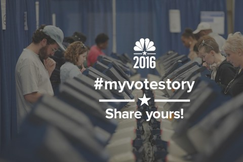 Tell Us Why You're Voting in the 2016 Election With #MyVoteStory