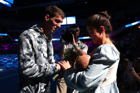 Phelps Says he had to Keep Marriage to Johnson 'Hush-Hush'