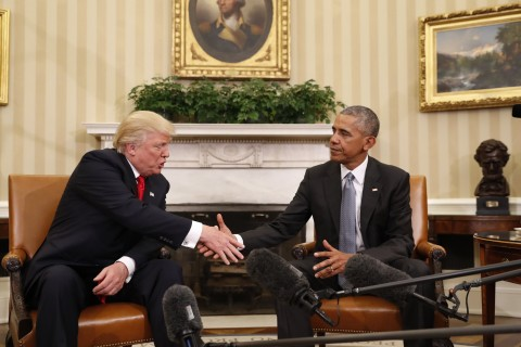 Analysis: Contrast Between Obama and Trump is 'Unprecedented'