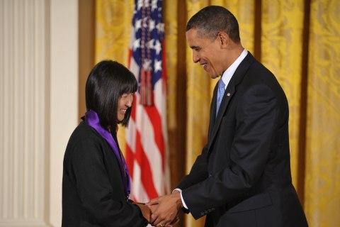 'Speechless': Vietnam Veterans Memorial Architect Maya Lin to Receive Medal of Freedom