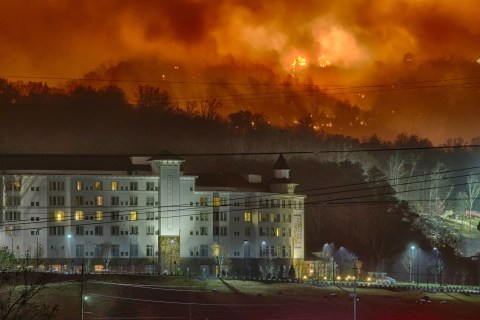 Tennessee Flames Threaten Dolly Parton's Hotel
