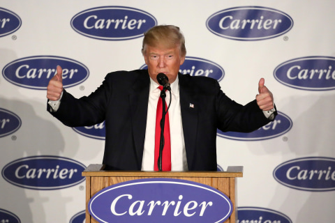 United Technologies CEO Greg Hayes on Carrier Deal: I'm No Fool — 10 Percent of Revenue Comes from Gov't