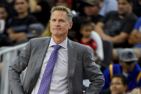Warriors' Steve Kerr Admits to Using Pot to Deal With Back Pain