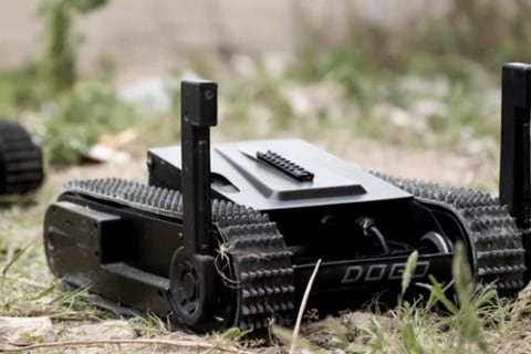 Eyes in the Air, Guns on the Ground: The Near Future of Police Robots