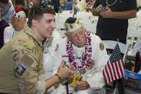 Thousands Pay Tribute at Pearl Harbor, 75 Years After Attack