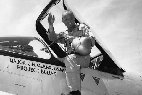 John Glenn: His Life in Pictures