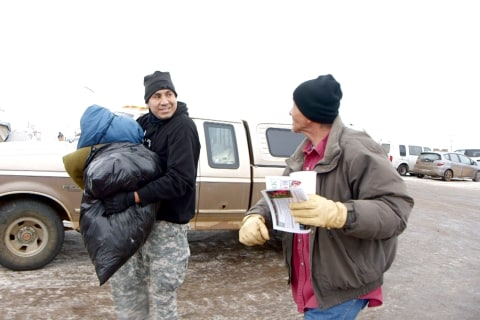 Veteran Finds Forgiveness, Peace in Standing Rock Fight
