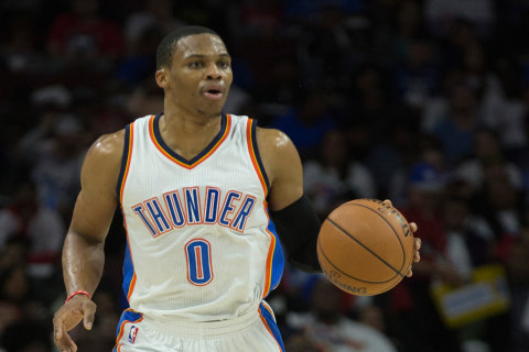Westbrook ties Jordan with Seventh Straight Triple-Double