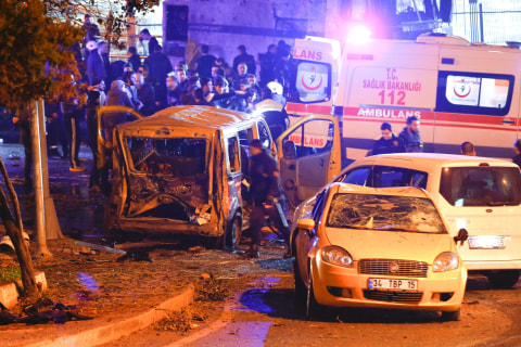 Turkish Minister: 38 Dead, 155 Wounded in Twin Istanbul Bombings