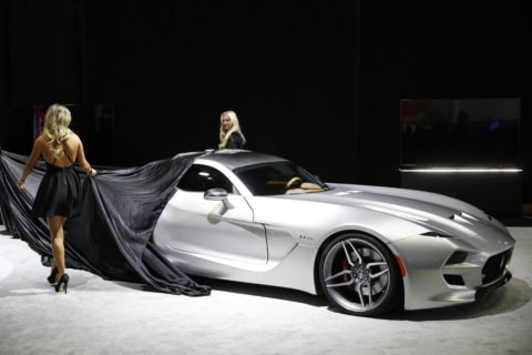 Science Fiction and Reality Converge at the Detroit Auto Show