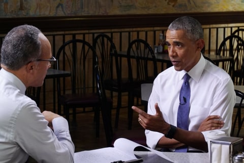 President Barack Obama in NBC Special Talks Legacy, How He 'Worked Really Hard' for America