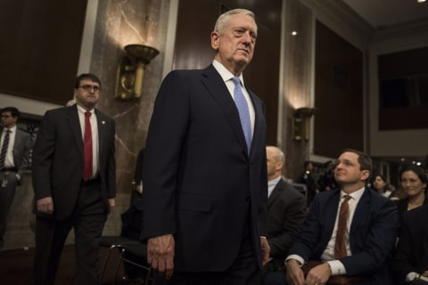 Trump's Defense Secretary Pick, 'Mad Dog' Mattis, Talks Tough on Russia