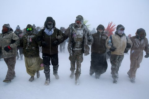 Pipeline Protesters Decry North Dakota Bills That 'Criminalize' Protests
