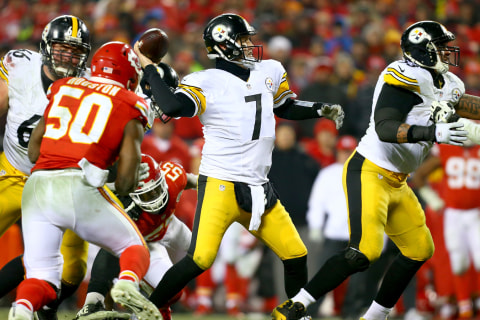 Steelers Squeak Past Chiefs, On to AFC Championship vs. Patriots