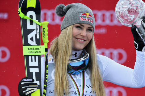 Why Lindsey Vonn Isn't Allowed to Race Against Men