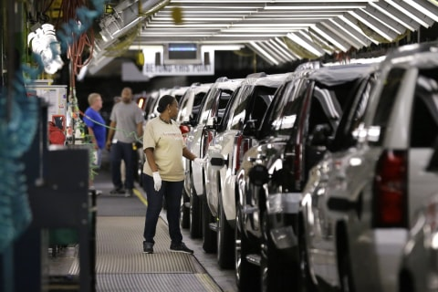 General Motors to Invest $1 Billion, Add 1,000 Jobs in U.S., Sources Say